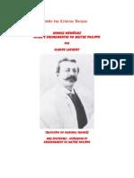 48600657 Minhas Memorias Curas e Ensinamentos Do Mestre Philippe Claude Laurent