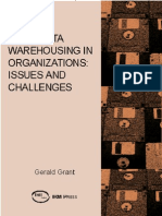 ERP and Data Warehousing in Organizations Issues and Challenges