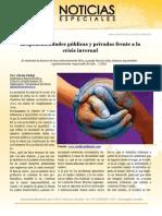 Responsabilidades públicas y privadas frente a la crisis invernal