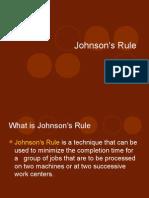 Johnson's Rule