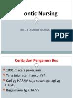 Gerontic Nursing
