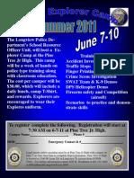 Explorerers Camp Registration Form