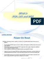 What is POR,LVD,WDT ?