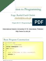 Ch02 C++ Programming Basics
