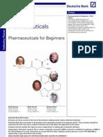 Pharma Industry for Beginners Deutsche Bank