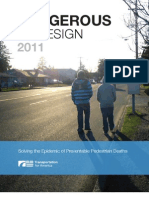 National Report Dangerous by Design 2011