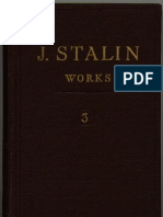 WORKS OF STALIN VOL 3