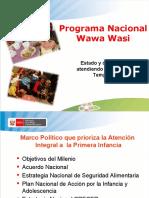 PPT Programa Nacional Wawawasi