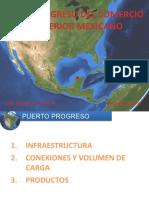 Ing. Gerardo Díaz Roche. Presentación del Puerto Progreso