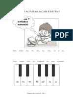 APOSTILA DE MUSICALIZAÇÃO INFANTIL