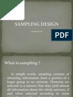 Sampling Design Ppt
