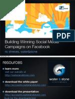2011 TDS Asia Workshop - Facebook Engagement