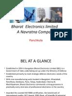 Bharat Electronics Limited Ppt