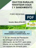 CEAM Foro Del Agua Sonson Mzo 2011