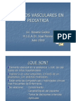 Vasculares Pediatria Power Point