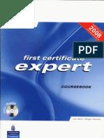 First Certificate Expert Course Book New 2008