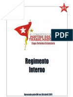 Regimento Interno do PT
