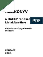 HACCP-Kezikonyv