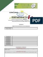 formato inscripción emprendete i + mayo 2011