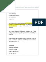 Exemple de Carta de Resposta a Un Anunci