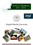 Guide to Admissions 2011-2012