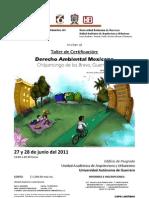 Poster Derecho Ambiental - Chilpancingo 2011