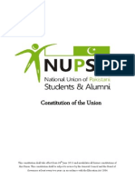 NUPSA Constitution First Draft