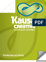Catalogo Productos Kausa Creativa