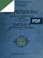Schlumberger. L'épopée byzantine à la fin du dixième siècle. 1896. Volume 2.