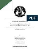 organisasi pembelajaran unilever