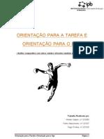 Psicologia - Ego e Tarefa - 2010(1)