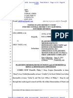 LIBERI v TAITZ (C.D. CA) - 200 - REPLY in Support of MOTION for Leave to file First Amended Complaint - 200.0
