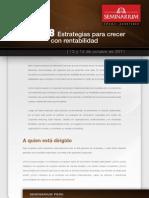 UBA08 - Estrategias para Crecer con Rentabilidad 2011