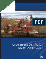 Underground Distribution System Design Guide