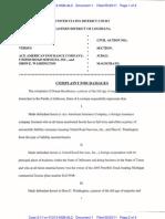 BOUDREAUX v. ACE AMERICAN INSURANCE COMPANY et al Complaint