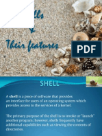 Types of Shell (Amrita)
