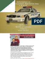 Info on Law Enforcement Appr Sundays