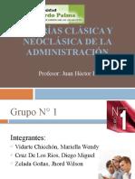 Teorías Clásica y Neoclásica de la administración