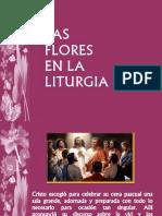 Las Flores en La Liturgia