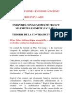 Alain Badiou - Théorie de la Contradiction