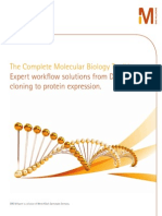 Complete Molecular Biology Toolkit - from Cloning to Protein Expression
