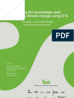 Planting the Knowledge Seed Adapting to climate change using ICT´s, concepts, current knowledge and innovative examples