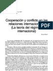 Barbe_Cooperación y conflicto en las RIN