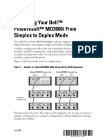 From Simplex to Duplex Mode