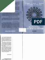 O Papel da Cultura nas Ciências Sociais - Buman et al