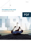 The Wisdom of the Cloud-Cloud Computing in the Life Sciences Industry Executive Report