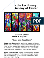 Living the Lectionary - Sixth Sunday of Easter