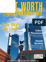 Fort Worth Economic Development Guide 2011