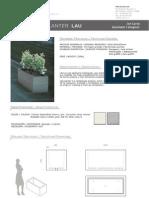 Mobiliario urbano Proiek - Jardinera Lau