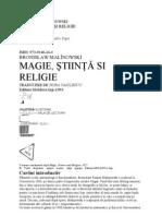 Bronislaw ski - Magie, Stiinta Si Religie